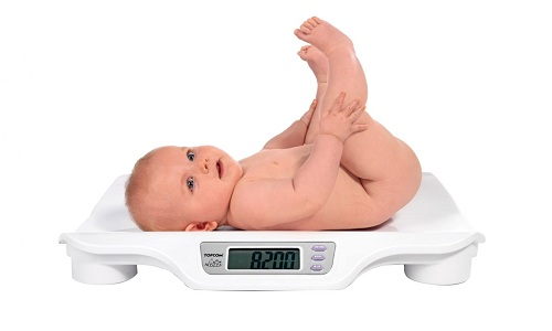 Вес ребенка в первые месяцы жизни