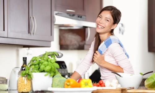 Правильное питание при кормлении грудью