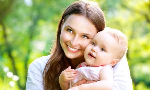Прогулка с новорожденным ребенком