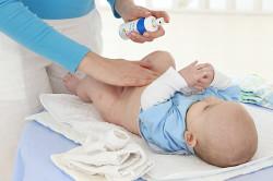 Обработка пупка новорожденного