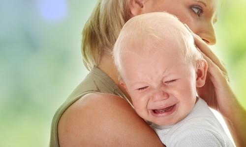 Проблема плача у ребенка