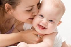 Окончание кормления малыша