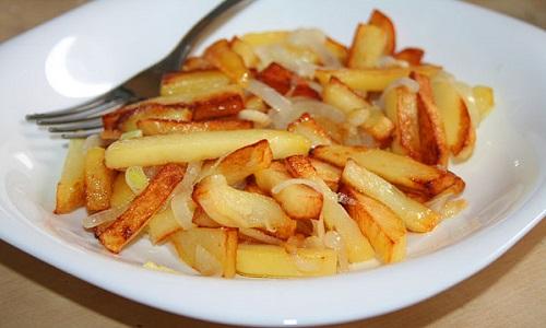 Употребление жареной картошки кормящей маме