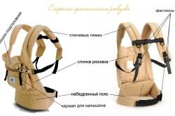 Строение эргономичного рюкзака
