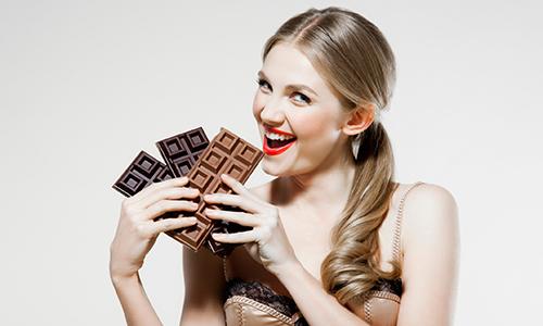 Мама с шоколадом