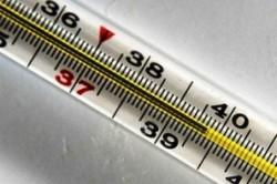 Повышение температуры тела при ангине