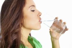Обильное питье при низком давлении
