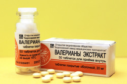 Таблетки валерьянки