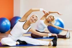 Занятия спортом для профилактики растяжек