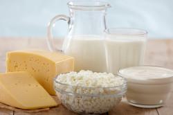 Молочные продукты для снижения вреда от облучения