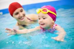 Посещение бассейна с ребенком