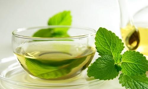 Чай с мятой для кормящей матери