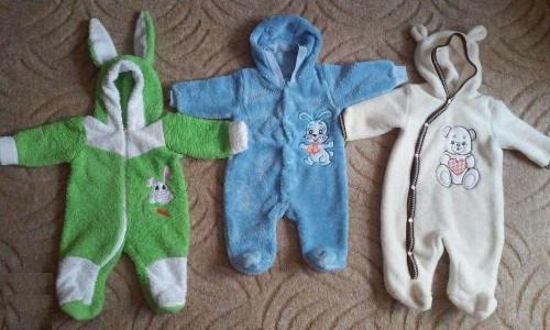 Летние комбинезоны для новорожденных