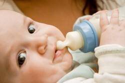 Смешанное кормление новорожденного