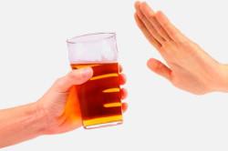 Отказ от алкоголя при грудном кормлении
