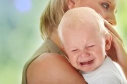 Плач - причина пульсации родничка