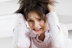 Стресс - причина выпадения волос