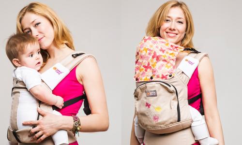 Удобный рюкзак для переноски новорожденных детей