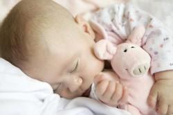 Крепкий сон новорожденного после купания