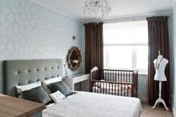 Удобство расположения детской кроватки в спальне родителей