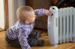 Использование обогревателя для повышения температуры в комнате