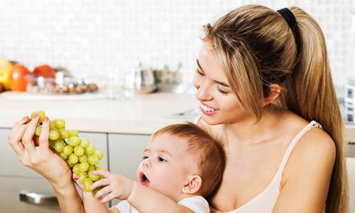 Употребление винограда при кормлении грудью