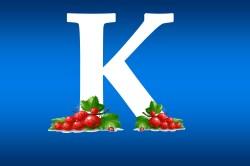Витамин К содержащийся в составе смородины