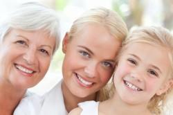 Наследственность - одна из причин возникновения мраморной кожи