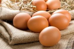 Яйца для приготовления запеканки