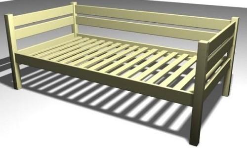 Удобная детская кроватка